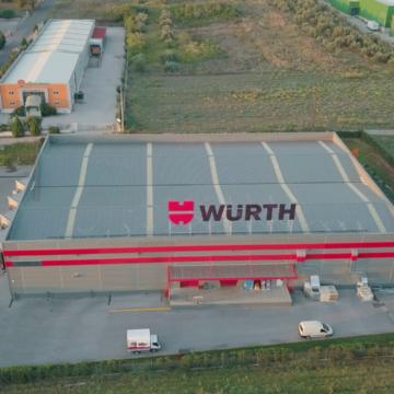Εταιρικό βίντεο για την παρουσίαση του νέου Logistic Center της εταιρείας Wurth Hellas